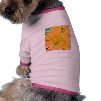 Painted Gerber Daisies Dog Clothes