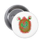 Painted Germ 2 Inch Round Button
