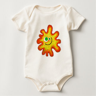 Painted Germ Baby Bodysuit
