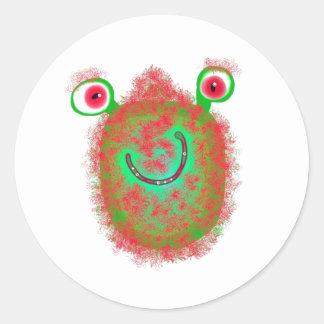 Painted Germ Classic Round Sticker