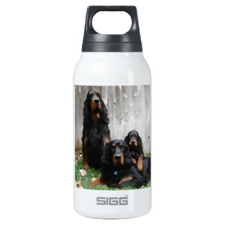 Painted Gordon Setter Generations 10 Oz Insulated SIGG Thermos Water Bottle