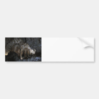 Painted Grotto Car Bumper Sticker