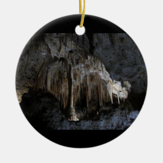 Painted Grotto Ceramic Ornament