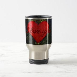 Painted Heart Mug