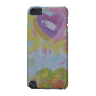 Painted Hearts iPod Touch 5g, Barely There iPod Touch (5th Generation) Cover