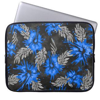 Painted Hibiscus Hawaiian Neoprene Wetsuit Laptop Sleeve