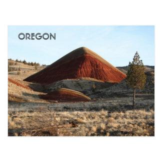 Painted Hill Unpainted Tree Postcard