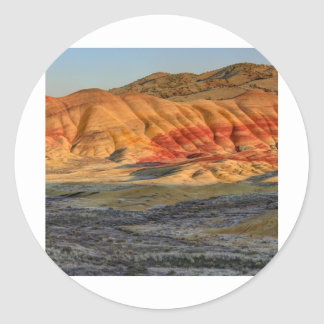 Painted Hills Classic Round Sticker
