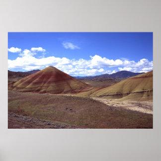 """Painted Hills"" Geologic Aura Print"