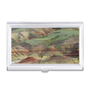 Fossil business card holders cases zazzle painted hills john day fossil beds mitchell business card holder colourmoves