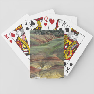 Painted Hills, John Day Fossil Beds, Mitchell Poker Deck