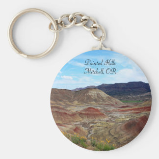 Painted Hills - John Day Fossil Beds N.M. Keychain