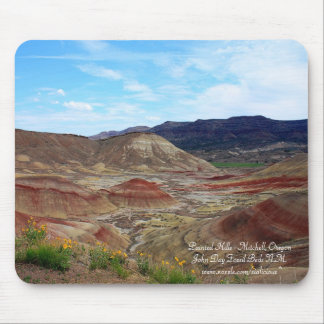 Painted Hills - John Day Fossil Beds N.M. Mousepad