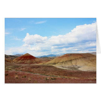 Painted Hills John Day Fossil Beds Oregon Card
