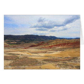 Painted Hills - John Day Fossil Beds Oregon Card