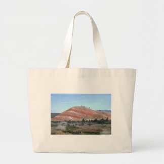 Painted Hills Mountain Nature Photo Art Design Large Tote Bag