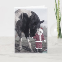"""""""Painted Holidays"""" Greeting Card"""