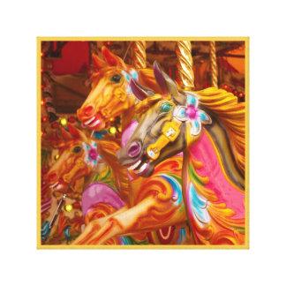 Painted Horse 11 amusement park canvas