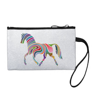 painted horse change purse