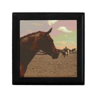 Painted Horse Gift Box