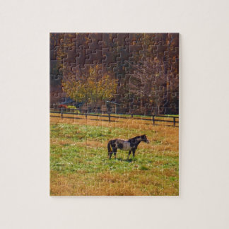 Painted Horse in the Distance Jigsaw Puzzles