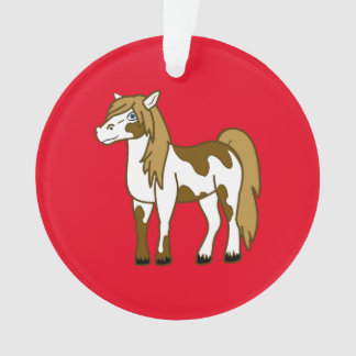 Painted Horse Ornament