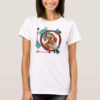 Painted Horse Southwester Design T-Shirt