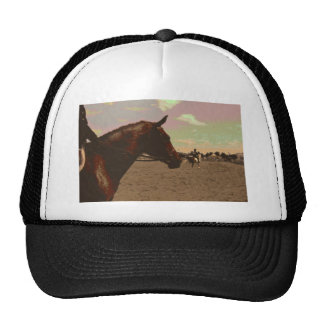 Painted Horse Trucker Hat