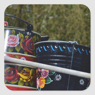 Painted Jug And Bucket Stickers