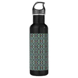 Painted Kaleidoscope Stainless Steel Water Bottle