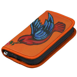 Painted Kingfisher - customizable planner