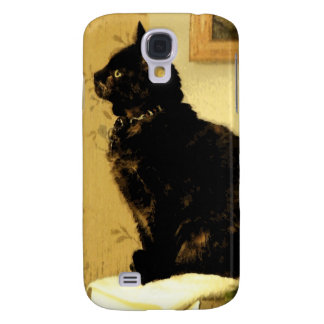 Painted Kitty Galaxy S4 Case