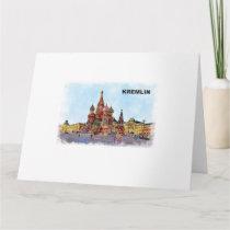 painted Kremlin Card