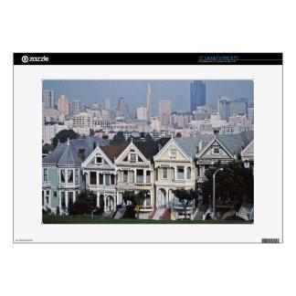Painted Ladies San Francisco TWurl Skins For Laptops