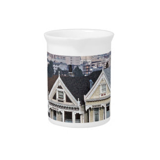 Painted Ladies SF Tom WQurl.jpg Beverage Pitcher