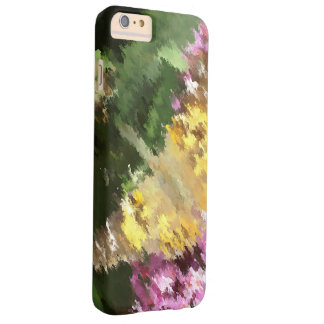 Painted Lady Butterfly Acrylic Effect Barely There iPhone 6 Plus Case