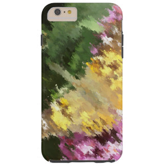 Painted Lady Butterfly Acrylic Effect Tough iPhone 6 Plus Case