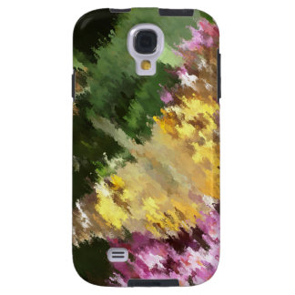 Painted Lady Butterfly Acrylic Effect Galaxy S4 Case