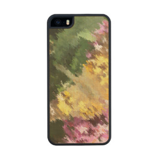Painted Lady Butterfly Acrylic Effect Carved® Maple iPhone 5 Case