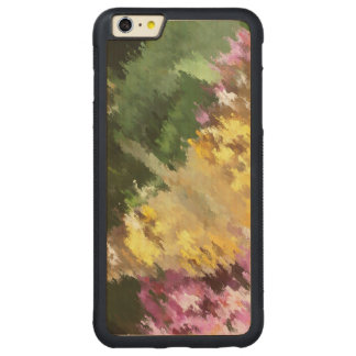 Painted Lady Butterfly Acrylic Effect Carved® Maple iPhone 6 Plus Bumper Case