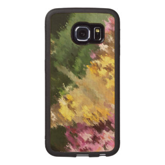 Painted Lady Butterfly Acrylic Effect Wood Phone Case