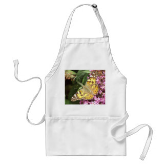 Painted Lady Butterfly Adult Apron
