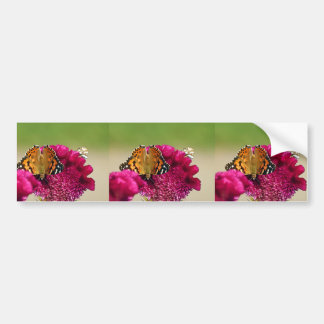 Painted Lady Butterfly Bumper Sticker