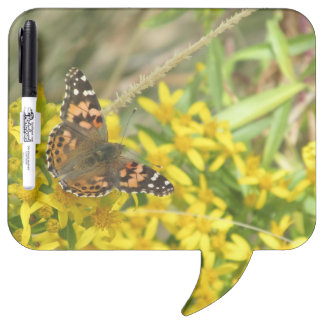 Painted Lady Butterfly Dry Erase Board