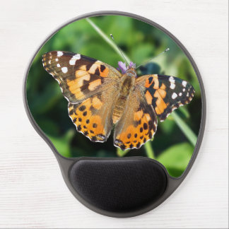 Painted Lady Butterfly Gel Mousepad
