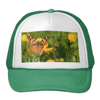 Painted Lady Butterfly Trucker Hat