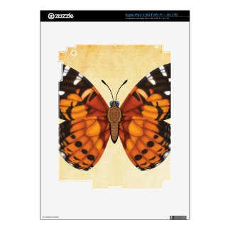 Painted Lady Butterfly iPad 3 Skin