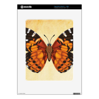Painted Lady Butterfly iPad Skin