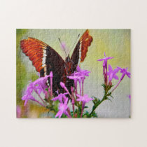 Painted Lady Butterfly. Jigsaw Puzzle