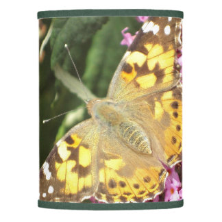 Painted Lady Butterfly Lamp Shade